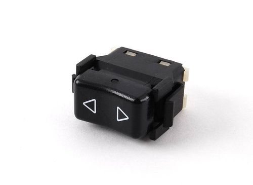 944 Oval Dash Electric Window Switch Black