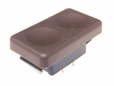 944 Early Dash Electric Window Switch Brown
