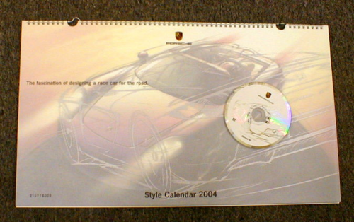 Carrera GT Limited Edition Calendar 2004
