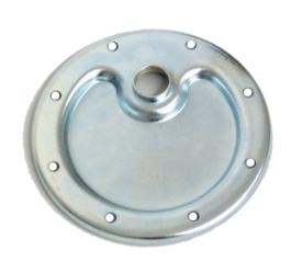 911 1965-83 Sump Cover Plate with Drain Hole Flat