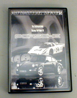 The Distinguished Racing Heritage Of Porsche DVD