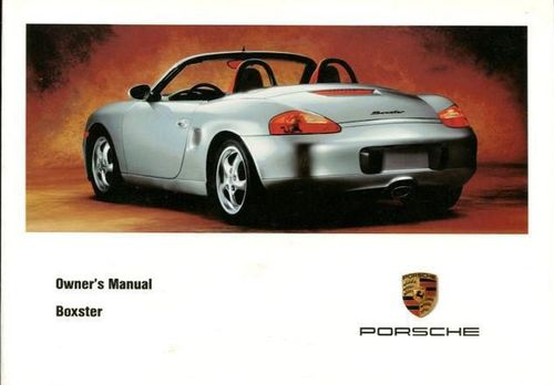 Owners / Drivers Manual Boxster 986 2.5