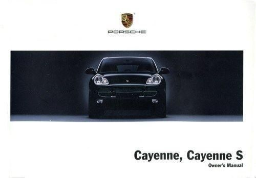 Owners / Drivers Manual Cayenne & Cayenne S >>06
