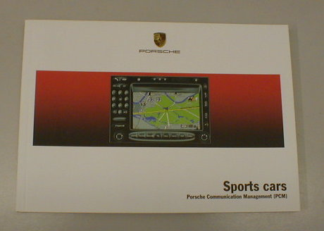 Owners / Drivers Manual Sat Nav Sports Cars >>05