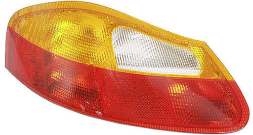 Boxster 986 Rear Light Unit Red/Amber Left