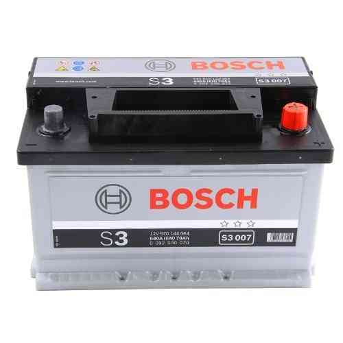 Bosch Silver S3 - 70 amp hour Battery S3007
