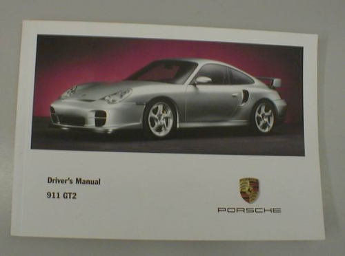 Owners / Drivers Manual 996 GT2