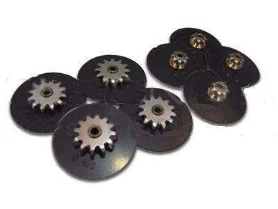 Rear Anti Squeal Pad Set