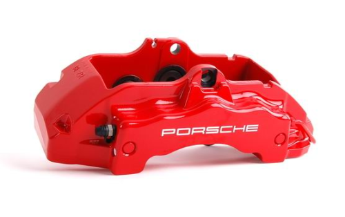 Cayenne >>06 Front Brake Caliper RED