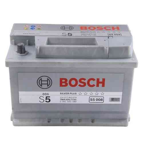 Bosch Silver S5 - 77 amp hour Battery S5008