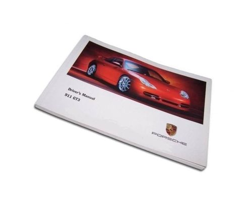 Owners / Drivers Manual 996 GT3 MK1