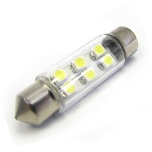 Festoon Light Bulb 6x LED 37mm