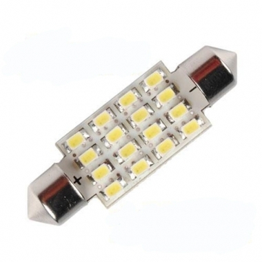 Festoon Light Bulb 16x LED 39mm