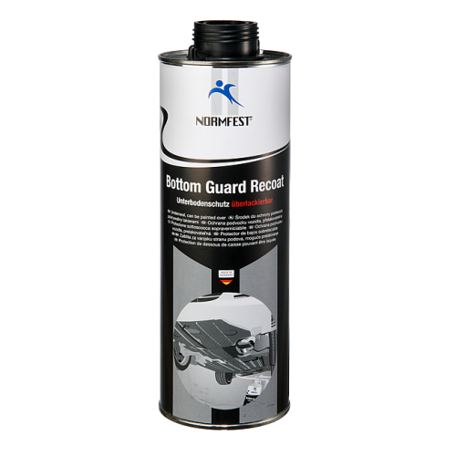 Normfest Bottom Guard Recoat Underseal 1ltr Black