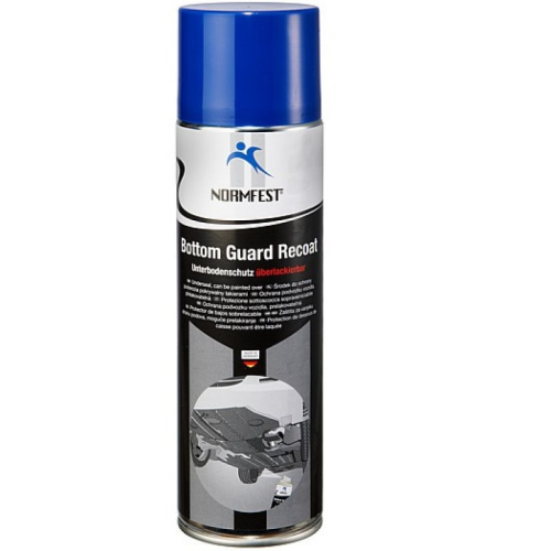 Normfest Bottom Guard Recoat Underseal 500ml Black