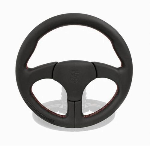 Porsche Clubsport/RS Sports Steering Wheel Red Stitching