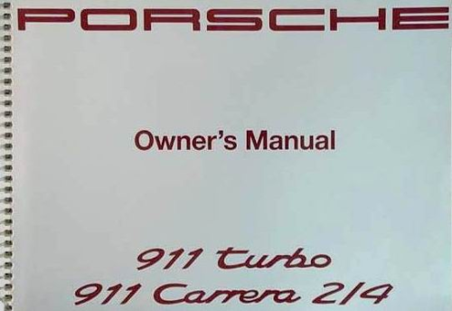 Owners / Drivers Manual 964 1993