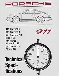 Factory Spec. Book 964 & 965