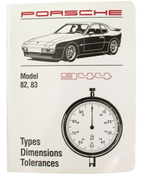 Factory Spec. Book 944 1982-83