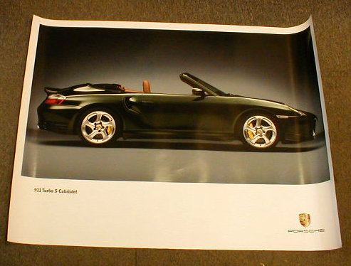 Poster - Turbo S Cabriolet