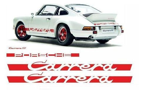 """2.7 Carrera RS"" Decal Set of 4"