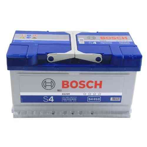 Bosch Silver S4 - 80 amp hour Battery S4010