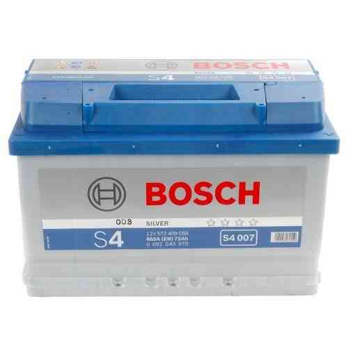 Bosch Silver S4 - 72 amp hour Battery S4007