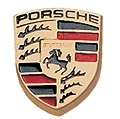 Porsche Key Head Crest Colour
