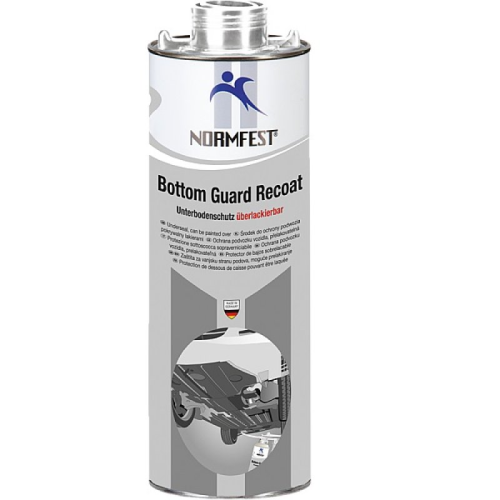 Normfest Bottom Guard Recoat Underseal 1ltr Grey
