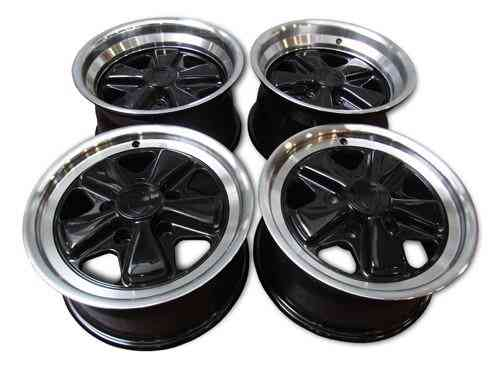 "Set 15"" Fuchs Wheels 7"" ET23 & 8"" ET10"