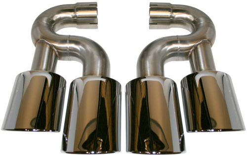 Cayenne Turbo & S >>06 Tail Pipe Set