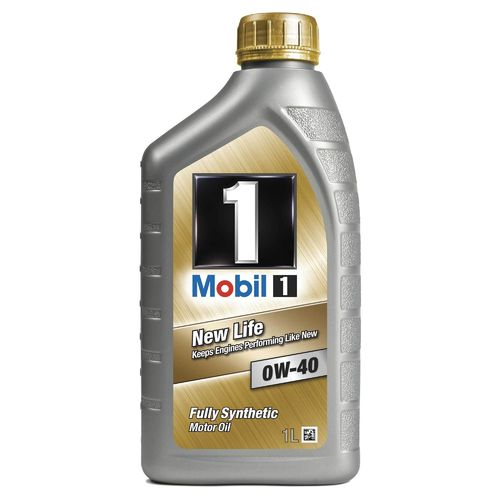 Mobil 1 New Life 0W/40 Oil 1 litre