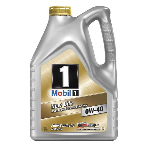 Mobil 1 New Life 0W/40 Oil 5 litres