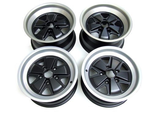 "Set 15"" Fuchs Wheels 7"" ET23 & 9"" ET15"