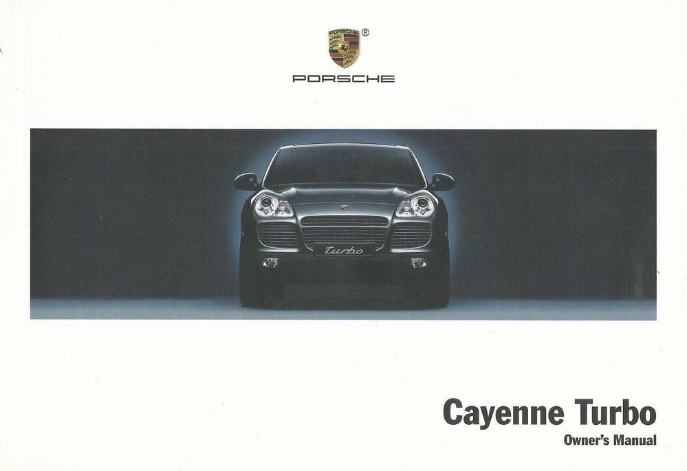 owners drivers manual cayenne turbo u003e u003e06 type911 porsche parts rh type911shop co uk 2017 Porsche Cayenne Turbo S Porsche Cayenne Turbo S Specs