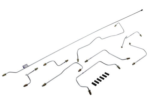 911 1967-68 Brake Pipe Line Kit LHD