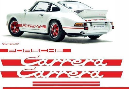"""2.7 Carrera RS"" Full Car Decal Set of 7"